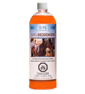 Barn Désodoriser Nettoyant et neutralisant d'odeurs d'ammoniac