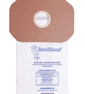Sac Carpet-Pro & sanitaire power-pro dorsal (backpack)
